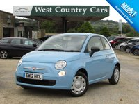 USED 2012 12 FIAT 500 1.2 POP 3d 69 BHP £30 For A Years Tax And 45MPG