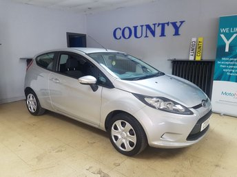 2010 FORD FIESTA 1.2 EDGE 3d 81 BHP £2995.00
