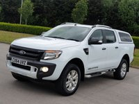 2014 FORD RANGER 3.2 WILDTRAK 4X4 DCB TDCI 1d AUTO 197 BHP £15750.00