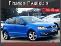 USED 2014 14 VOLKSWAGEN POLO 1.4 SEL TDI BLUEMOTION 5d 89 BHP +++FULL SERVICE HISTORY+++
