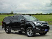 USED 2014 64 ISUZU D-MAX 2.5 TD BLADE DCB 1d 164 BHP TOP SPEC, HARDTOP, LOVELY TRUCK