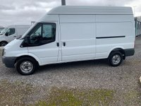 2014 FORD TRANSIT 350 lwb H/Roof van 125ps £6350.00