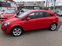 USED 2013 13 VAUXHALL CORSA 1.2 SXI 3d 83 BHP *** 12 MONTHS WARRANTY *** ONE OWNER ***
