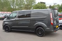 USED 2019 FORD TRANSIT CUSTOM 2.0 300 L2H1 Limited Double Cab-in-Van 6dr WCSDesign Sports Crew Van