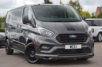 2019 FORD TRANSIT CUSTOM 2.0 300 L2H1 Limited Double Cab-in-Van 6dr £29990.00