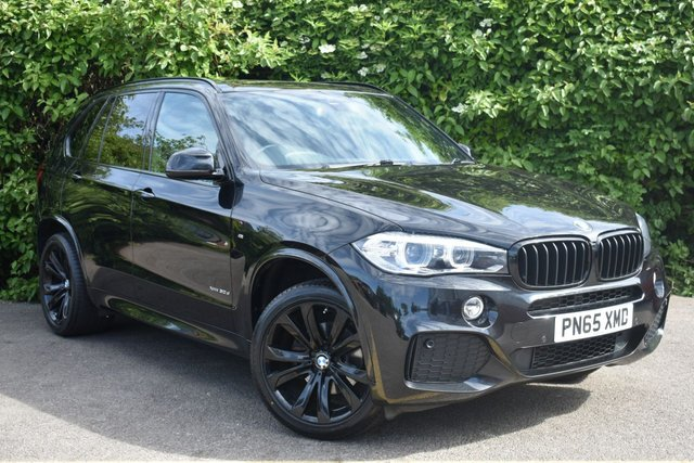 2015 65 BMW X5 3.0 XDRIVE30D M SPORT 5d AUTO 255 BHP BLACK PACK