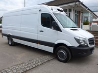 USED 2017 17 MERCEDES-BENZ SPRINTER 514CDI FREEZER STANDBY, 140 BHP [EURO 6]