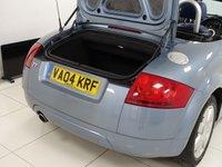 USED 2004 04 AUDI TT 1.8 ROADSTER 2d 148 BHP