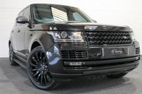 """USED 2013 63 LAND ROVER RANGE ROVER 4.4 SDV8 AUTOBIOGRAPHY 5d AUTO 339 BHP **STEALTH PACK+22"""" ALLOYS**"""