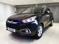 USED 2012 61 HYUNDAI IX35 1.7 PREMIUM CRDI 5d 114 BHP FULL HEATED LEATHER UPHOLSTERY + GLASS PANORAMIC ROOF + PRIVACY GLASS