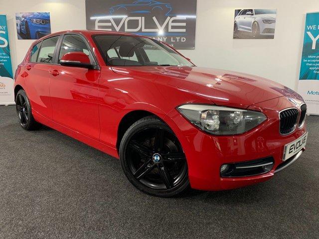2012 62 BMW 1 SERIES 2.0 116D SPORT 5d 114 BHP