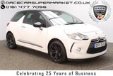 USED 2011 11 CITROEN DS3 1.6 E-HDI DSTYLE PLUS 3DR HALF LEATHER 90 BHP FULL SERVICE HISTORY + FREE 12 MONTHS ROAD TAX + HALF LEATHER SEATS + PARKING SENSOR + CRUISE CONTROL + CLIMATE CONTROL + RADIO/CD/AUX + PRIVACY GLASS + ELECTRIC WINDOWS + ELECTRIC MIRRORS + 17 INCH ALLOY WHEELS