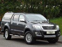 2015 TOYOTA HI-LUX 3.0 INVINCIBLE 4X4 D-4D DCB 1d AUTO 169 BHP £21295.00