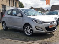 USED 2014 14 HYUNDAI I20 1.2 ACTIVE 3d 84 BHP AS ALWAYS ALL CARS FROM EDINBURGH CAR STORE COME WITH 1 YEARS FULL MOT ,1 FULL RAC INSPECTION SERVICE AND 6 MONTH RAC WARRANTY INCLUDING  12 MONTHS RAC BREAKDOWN RECOVERY FREE OF CHARGE!      PLEASE CALL IF YOU DONT SEE WHAT YOUR LOOKING FOR AND WE WILL CHECK OUR OTHER BRANCHES.  WE HAVE  OVER 100 CARS IN DEALER STOCK