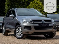 USED 2011 11 VOLKSWAGEN TOUAREG 3.0 V6 SE TDI BLUEMOTION TECHNOLOGY 5d AUTO 237 BHP