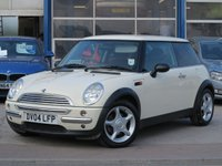 2004 MINI HATCH ONE 1.6 ONE 3d 89 BHP £1996.00