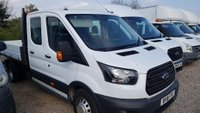 2018 FORD TRANSIT Transit 350 D/Cab Tipper (ford one stop shop body) DRW 129 BHP £19350.00