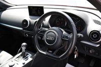USED 2015 65 AUDI A3 2.0 TDI S line Sportback S Tronic 5dr *1 OWNER*FULL LEATHER**XENONS