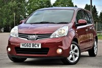 USED 2010 60 NISSAN NOTE 1.6 16v Tekna 5dr FULL SERVICE HISTORY+LONG MOT