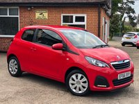 USED 2017 66 PEUGEOT 108 1.0 ACTIVE 3d 68 BHP 1 OWNER! ONLY 6000 MILES!