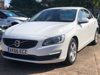 2016 VOLVO S60 2.0 D2 BUSINESS EDITION 4dr 118 BHP £10750.00