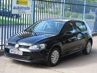 2014 VOLKSWAGEN GOLF 1.6 S TDI BLUEMOTION TECHNOLOGY 5d Bluetooth & audio DAB £7295.00