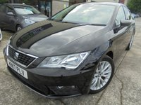 USED 2017 17 SEAT LEON 1.6 TDI SE DYNAMIC TECHNOLOGY DSG 5d AUTO 114 BHP Only One Owner, FSH, No Deposit Finance, No Fee Finance, Part Ex Welcomed, Very Economical Car, Low Road Tax