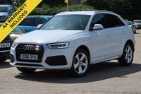 USED 2016 16 AUDI Q3 2.0 TDI S LINE 5d 148 BHP FULL SERVICE HISTORY REAR PARKING SENSORS