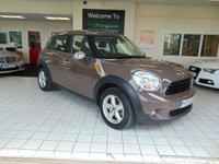 2010 MINI COUNTRYMAN 1.6 ONE 5d 98 BHP £5495.00