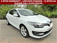 USED 2015 15 RENAULT MEGANE 1.5 DYNAMIQUE TOMTOM ENERGY DCI S/S 5d 110 BHP All retail cars sold are fully prepared and include - Oil & filter service, 6 months warranty, minimum 6 months Mot, 12 months AA breakdown cover, HPI vehicle check assuring you that your new vehicle will have no registered accident claims reported, or any outstanding finance, Government VOSA Mot mileage check. Because we are an AA approved dealer, all our vehicles come with free AA breakdown cover and a free AA history check.. Low rate finance available. Up to 3 years warranty available.