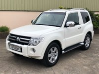 USED 2011 11 MITSUBISHI SHOGUN 3.2 WARRIOR DI-D SWB 3d 197 BHP LEATHER, SAT NAV, FULL SERVICE HISTORY, 3 DR, 5 SEATS.