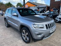 USED 2015 15 JEEP GRAND CHEROKEE 3.0 V6 CRD LIMITED 5d AUTO 247 BHP
