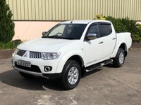 USED 2013 MITSUBISHI L200 2.5 DI-D 4X4 TROJAN DCB 1d 175 BHP LOW MILES, TOW BAR, LINER, ALLOYS, REALLY CLEAN
