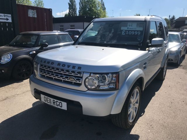 2011 11 LAND ROVER DISCOVERY 3.0 4 SDV6 GS 5d AUTO 245 BHP