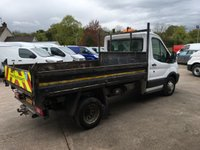USED 2015 64 FORD TRANSIT 2.2 350 Single cab tipper 124 BHP
