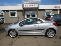 USED 2007 07 PEUGEOT 207 1.6 GT COUPE CABRIOLET 2DR 120 BHP