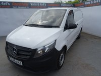 USED 2015 65 MERCEDES-BENZ VITO 1.6 109 CDI 1d 88 BHP MERCEDES BENZ VITO LONG WHEEL BASE NO VAT NO VAT NO VAT !!!!!