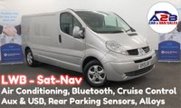 2013 RENAULT TRAFIC 2.0 DCI LL29 SPORT 115 BHP LWB, Factory Sat Nav, Bluetooth Connectivity, Cruise Control, Rear Parking Sensors, 2 Remote Keys £6480.00