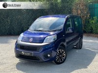 USED 2018 18 FIAT QUBO 1.4 LOUNGE 5d 77 BHP WHEELCHAIR ACCESSIBLE VEHICLE