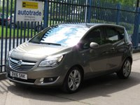 2016 VAUXHALL MERIVA 1.4 SE 5d Auto Pan roof 1/2 Leather Cruise Park sensors Alloys £9000.00