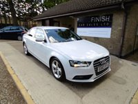 USED 2013 63 AUDI A4 2.0 TDI SE TECHNIK 4d 134 BHP * FULL SERVICE HISTORY * 2 KEYS * £30 ROAD TAX * DAB RADIO * SAT-NAV * PARKING SENSORS *