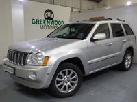 USED 2008 08 JEEP GRAND CHEROKEE 3.0 CRD V6 Overland 4x4 5dr