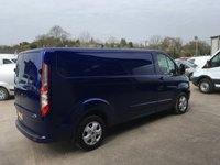 USED 2016 16 FORD TRANSIT CUSTOM 2.2 290 LIMITED Lr lwb124 BHP