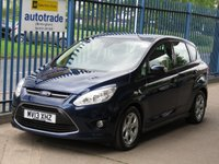 2013 FORD C-MAX 1.6 ZETEC TDCI 5d Voice control Air con Bluetooth Alloys £5695.00