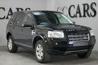 USED 2010 10 LAND ROVER FREELANDER 2.2 TD4 E GS 5d 159 BHP FULL ELECTRIC SIX WAY ADJUST BLACK LEATHER SEATS 17 INCH ALLOY WHEELS ECO STOP START TECHNOLOGY ADDS TO THE ALREADY FANTASTIC FUEL ECONOMY BLUETOOTH CONNECTIVITY DAB RADIO 17 INCH ALLOY WHEELS SUPERB DRIVER