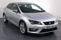 USED 2014 64 SEAT LEON 2.0 TDI FR TECHNOLOGY 3d 184 BHP Demo and ONE OWNER with 5 Stamp SERVICE HISTORY