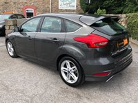 USED 2016 16 FORD FOCUS 1.5 ZETEC S TDCI 5d 118 BHP ** £0 TAX + BLUETOOTH + 1 OWNER EXAMPLE **