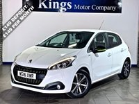 "USED 2016 16 PEUGEOT 208 1.2 PURETECH XS LIME 5dr  £20 Tax, 62.8 MPG, 1 OWNER, FSH , SAVE £££££""S ON New Price !!!"