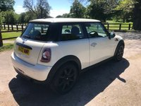USED 2012 62 MINI HATCH FIRST 1.6 FIRST 3d 75 BHP