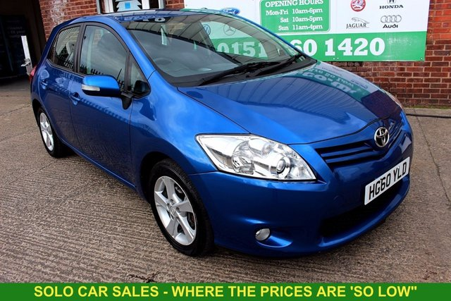 View our TOYOTA AURIS